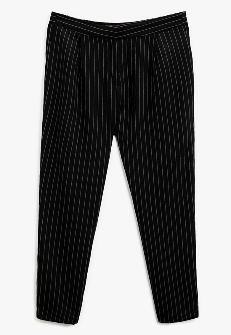 KOTON Pantaloni conici in dungi