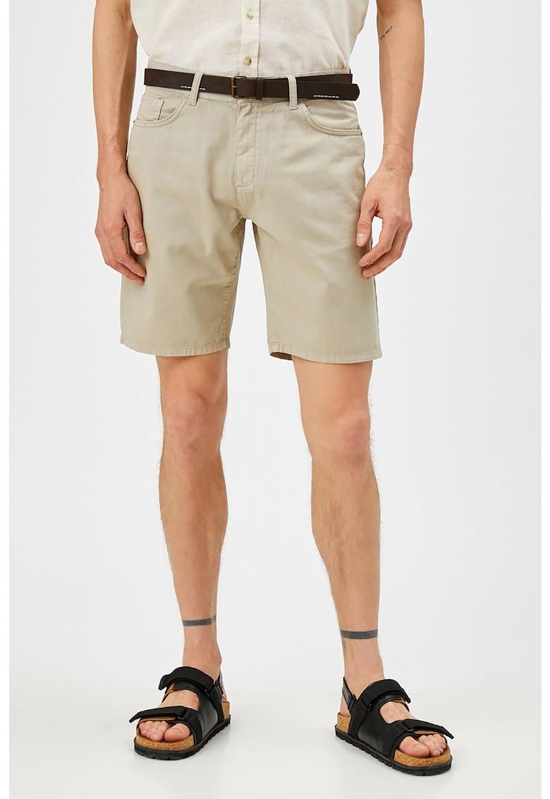 KOTON Pantaloni scurti cu o curea