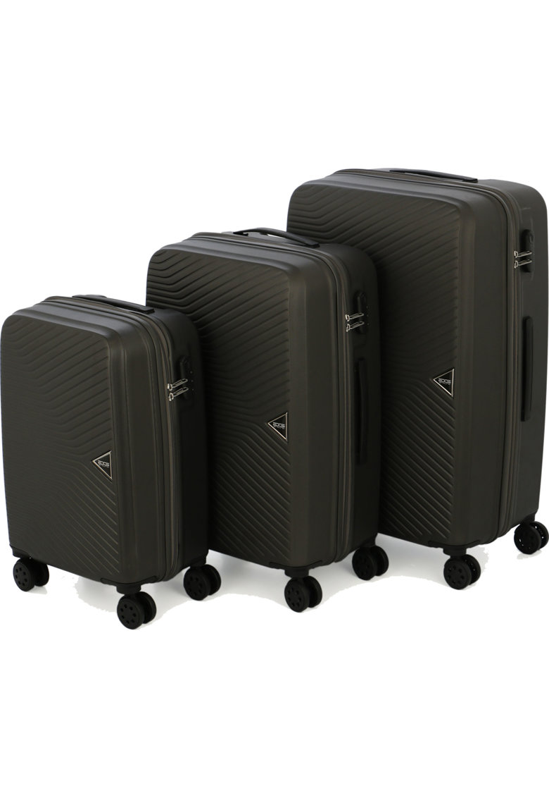 Set 3 trolere PRISM - ABS - marime S+M+L - culoare