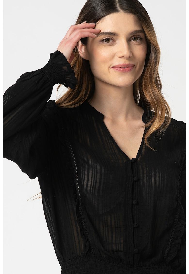 Bluza cu dungi si terminatie elastica Felicia