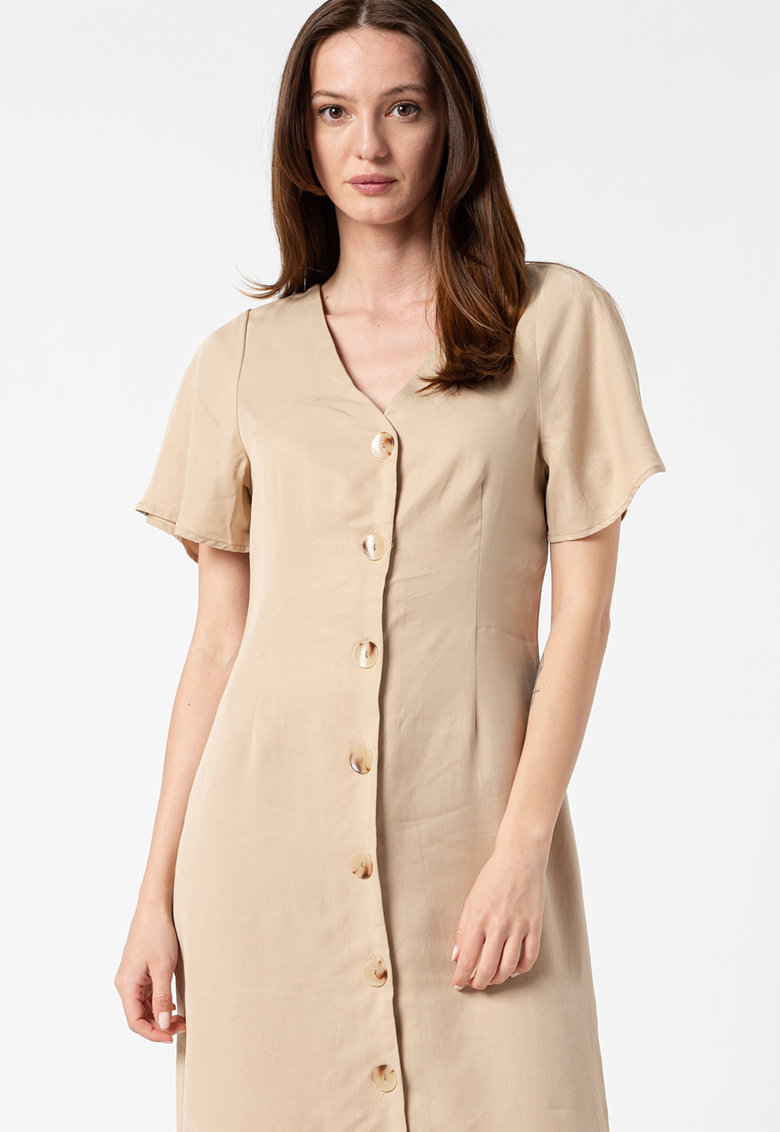 Rochie-tricou midi din lyocell Viviana