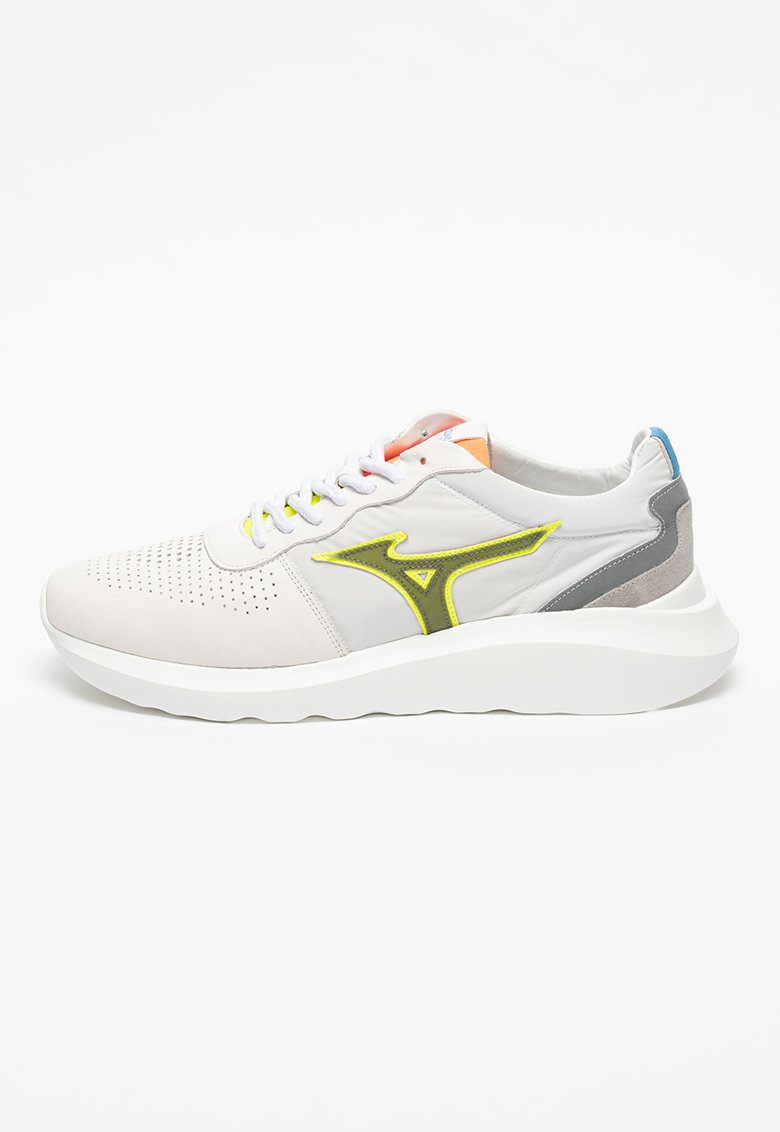 Pantofi sport de piele cu detalii perforate Naos