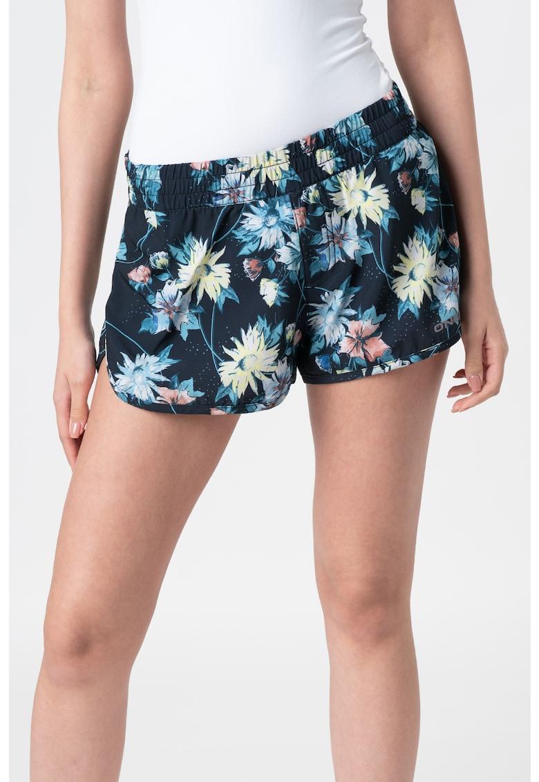 Pantaloni scurti de baie cu imprimeu floral Perform