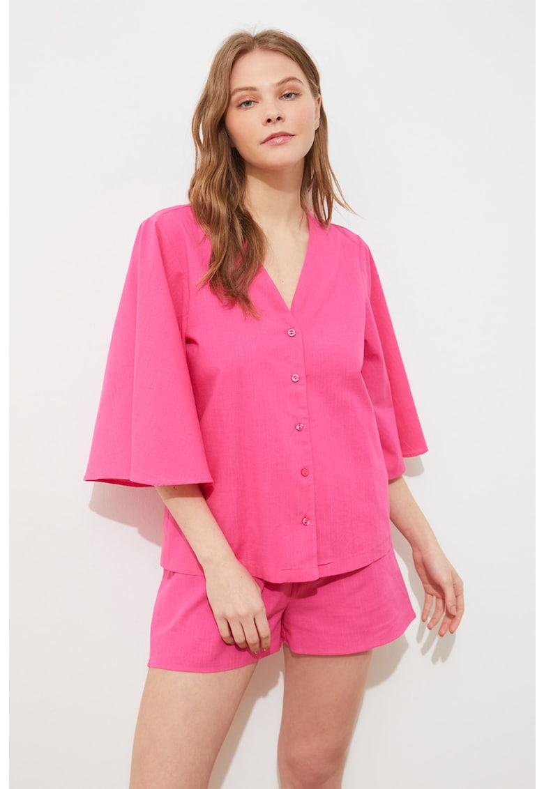Pijama de bumbac scurta