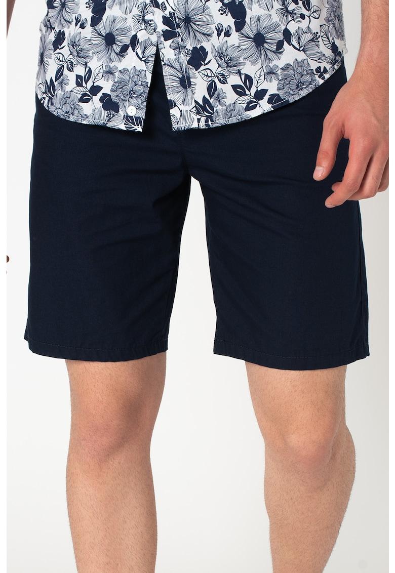 Pantaloni chino scurti de bumbac