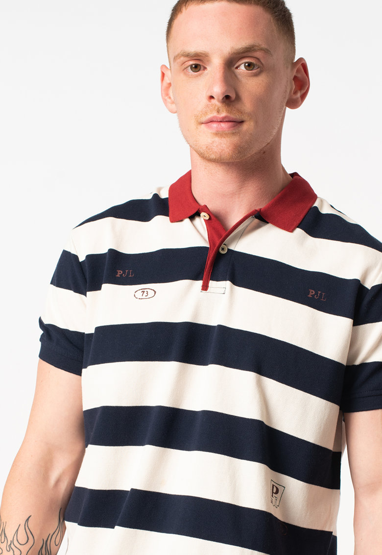 Tricou polo in dungi Christopher