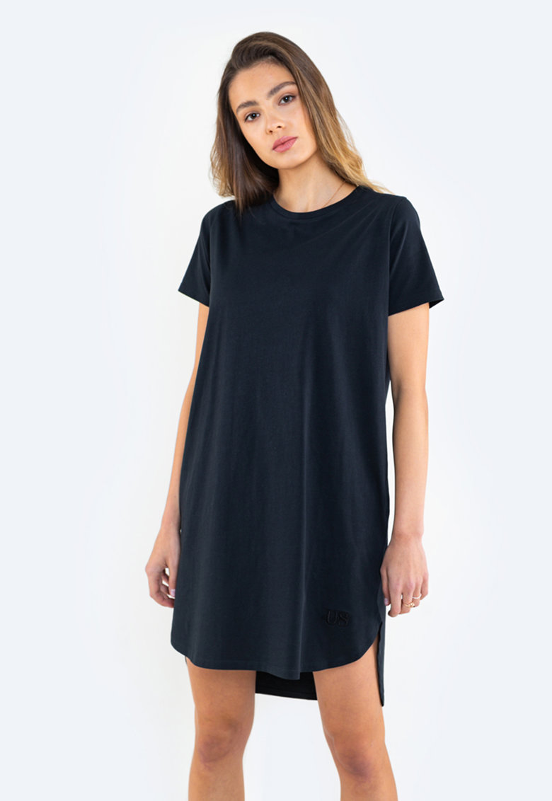 Rochie-tricou asimetrica