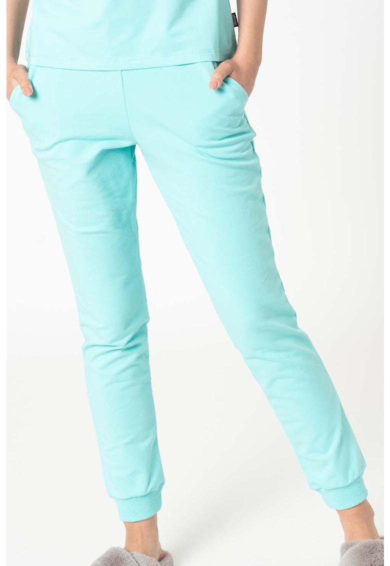 Pantaloni sport de casa cu buzunare laterale