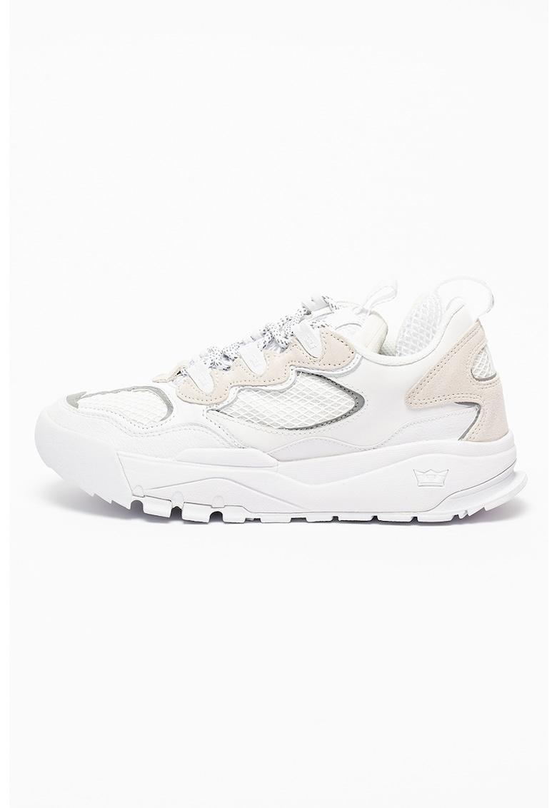 Pantofi sport cu insertii de piele Muska2000