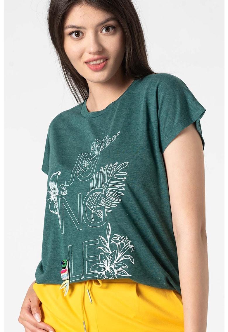 Z ONE by ZABAYONE - Tricou cu imprimeu Stella