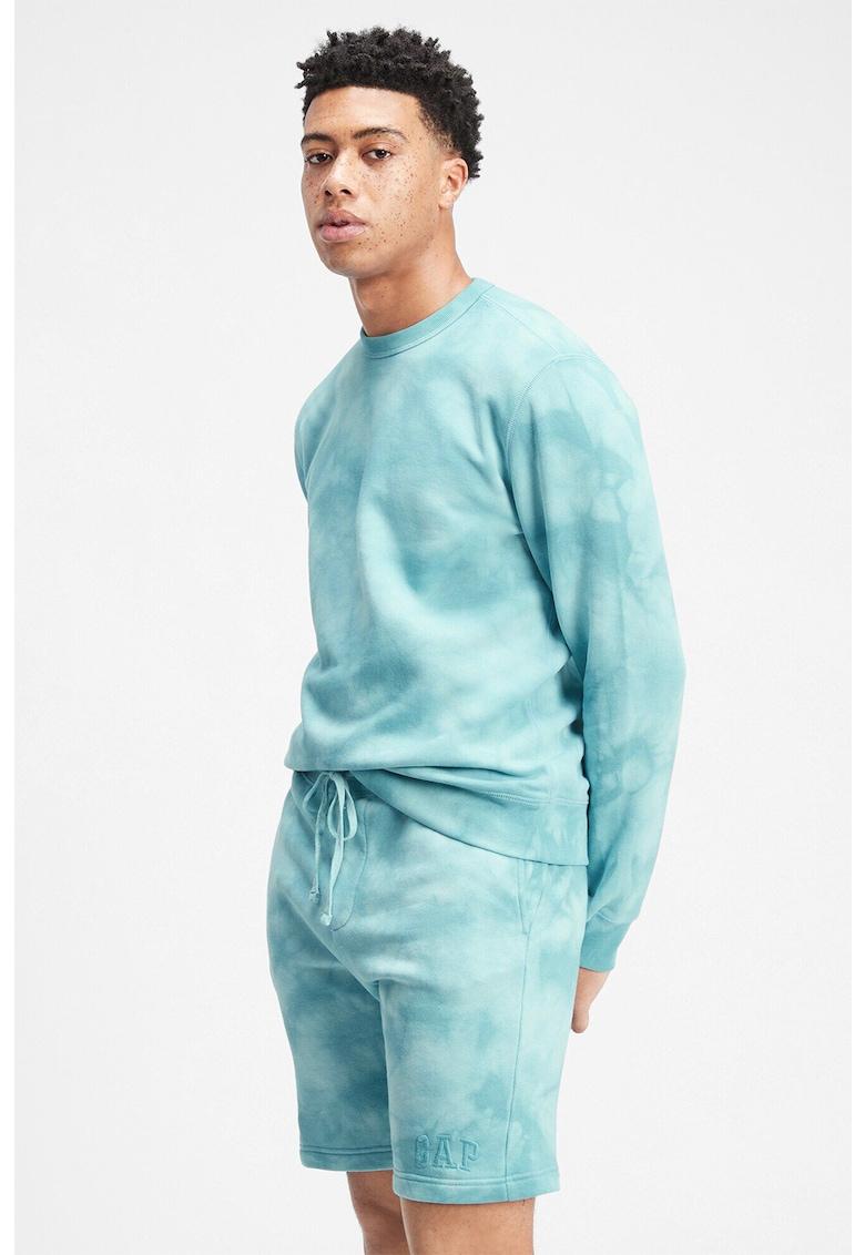 Bluza sport cu model tie-dye