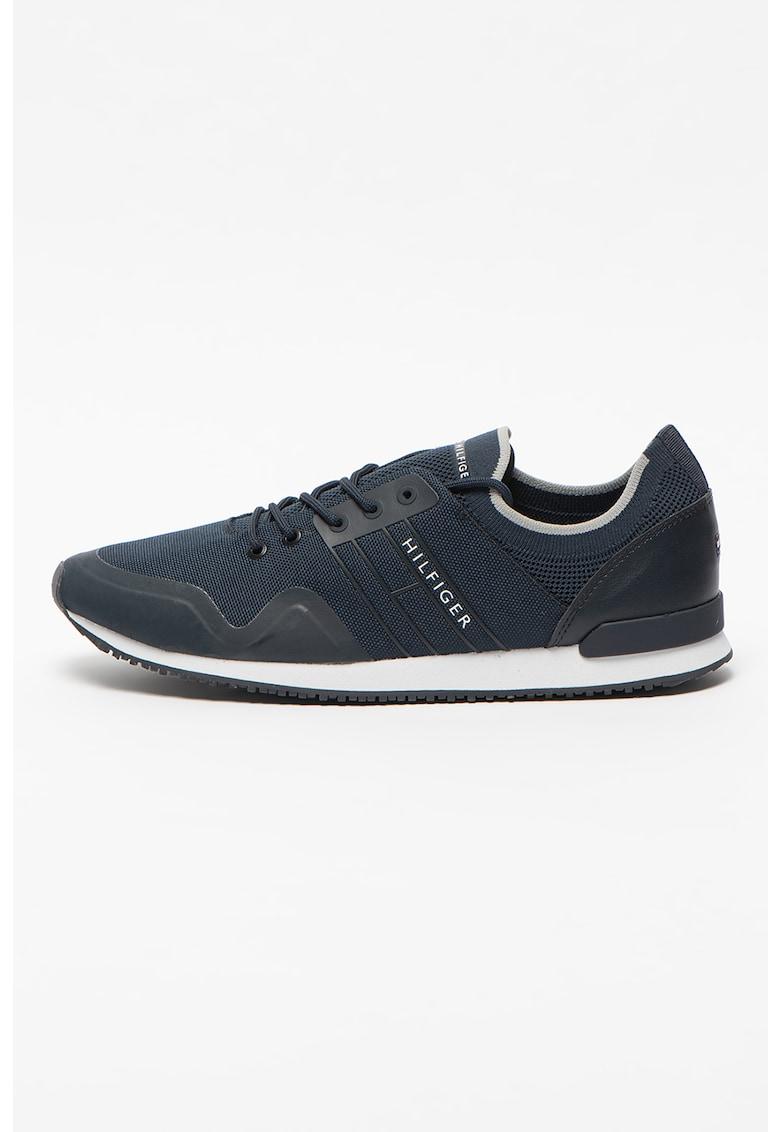 Tommy Jeans - Pantofi sport slip-on din piele ecologica si material textil