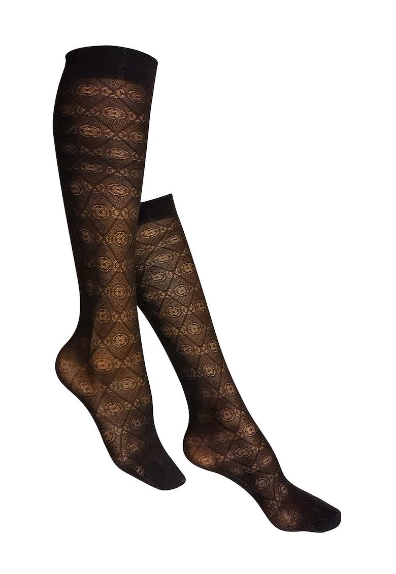 Sosete transparente lungi pana la genunchi - 40 DEN