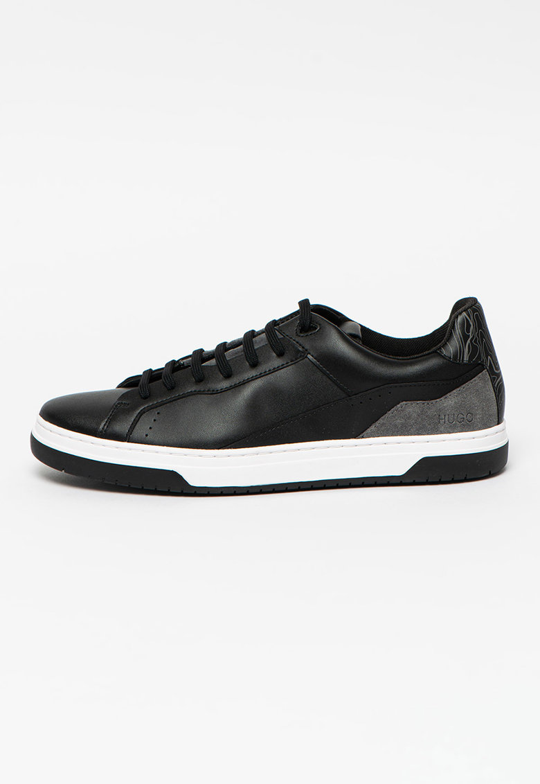 Pantofi sport inalti cu garnituri din piele intoarsa Switon