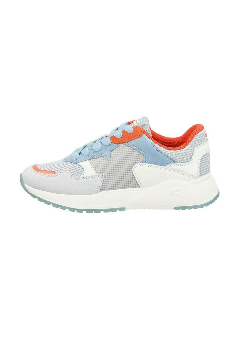 Pantofi sport cu model colorblock si insertii din piele intoarsa Ramble
