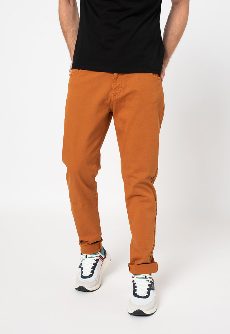 LA MARTINA Pantaloni slim fit cu buzunare
