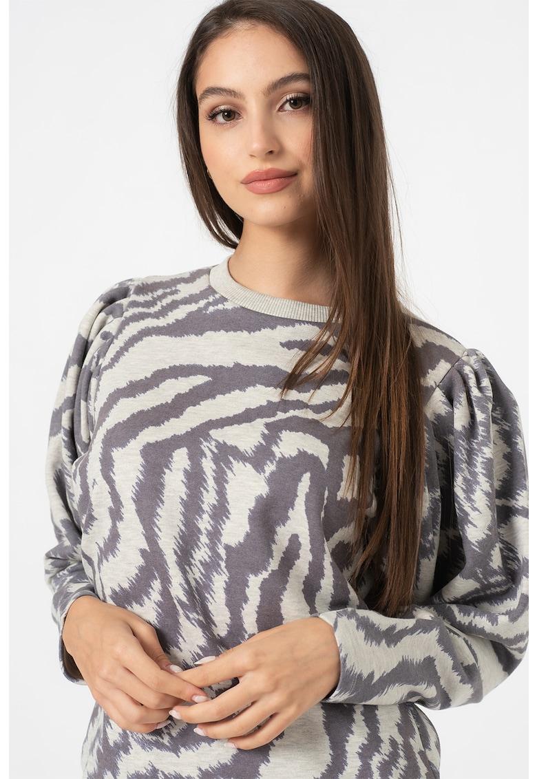 Bluza sport cu animal print Satrice