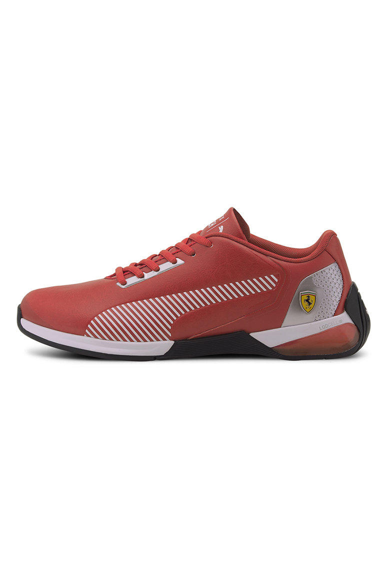 Pantofi sport de piele ecologica Kart Cat-X Tech Rosso Corsa