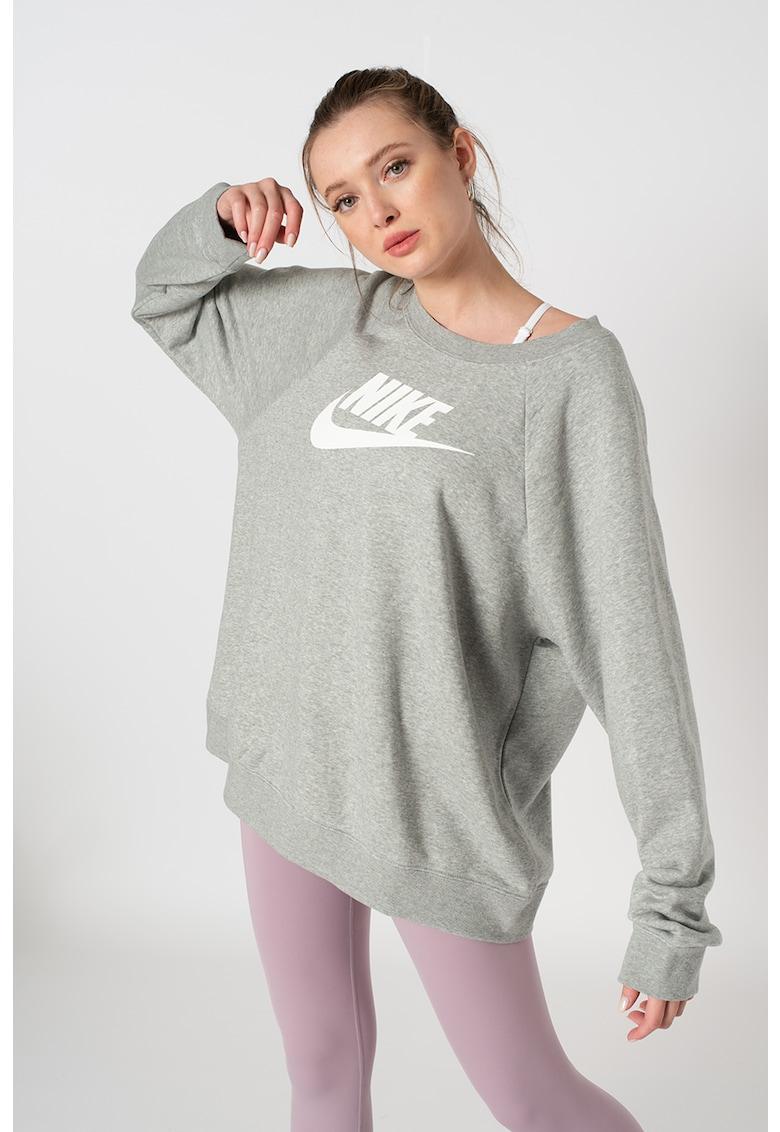 Nike Bluza sport supradimensionata cu imprimeu logo