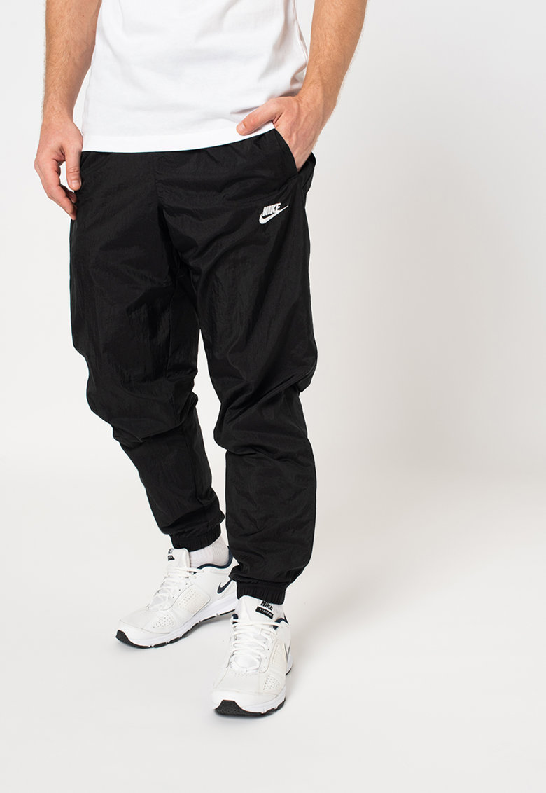 Nike Pantaloni sport cu snur si logo
