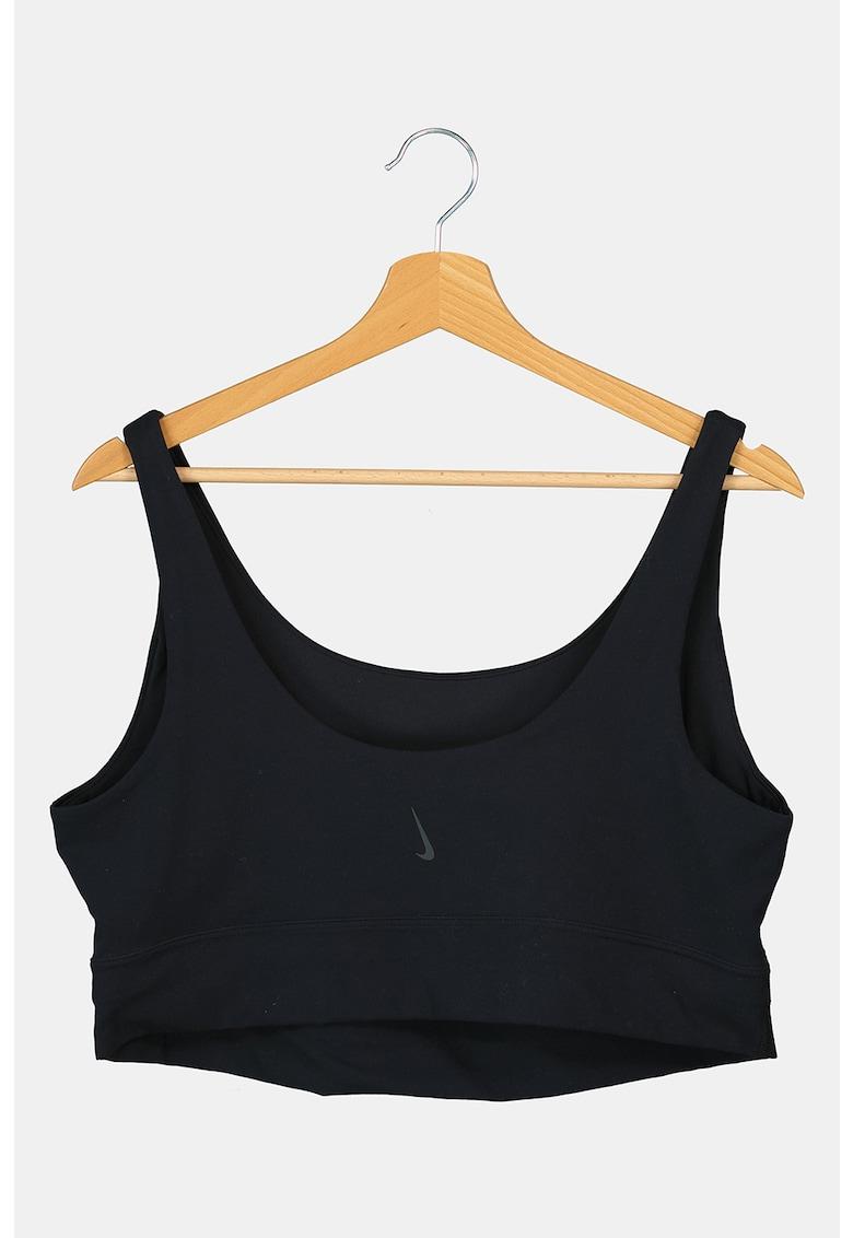 Nike Bustiera cu detaliu logo – pentru yoga