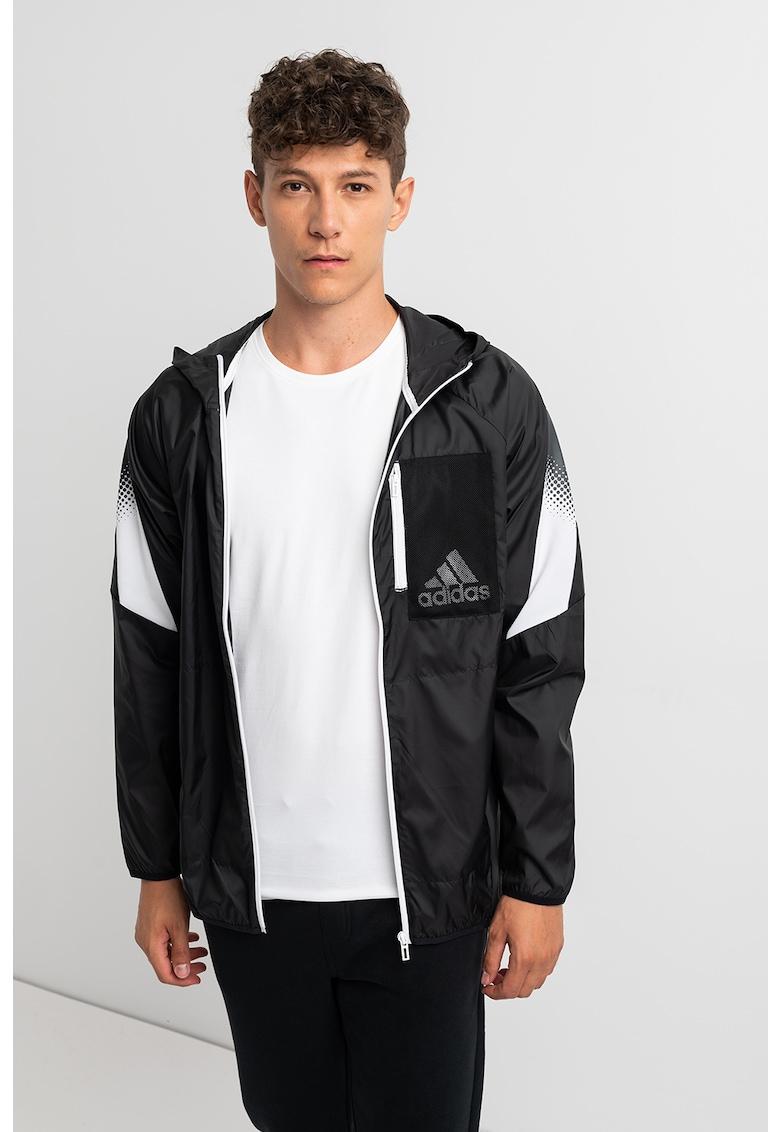 Jacheta regular fit cu captuseala de plasa - pentru antrenament de la adidas Performance