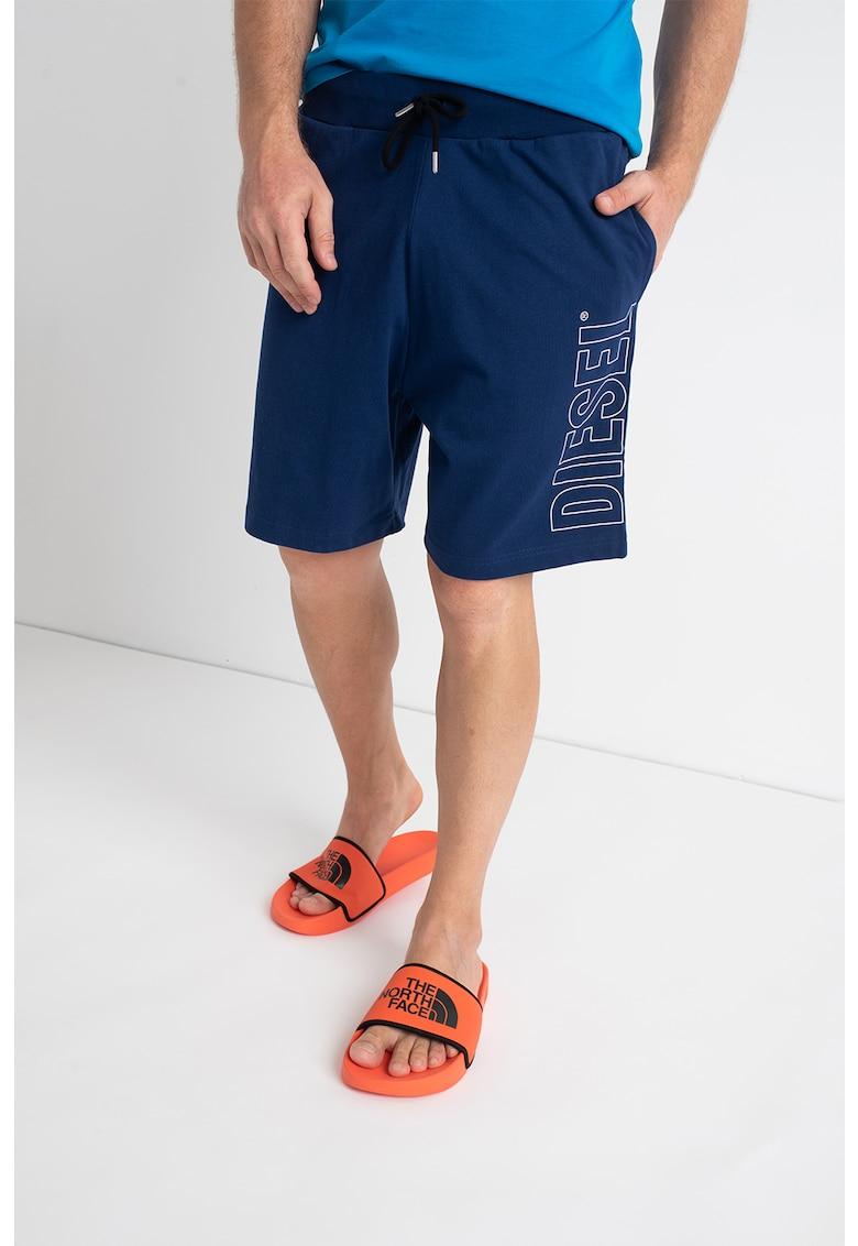 Pantaloni scurti de casa cu logo