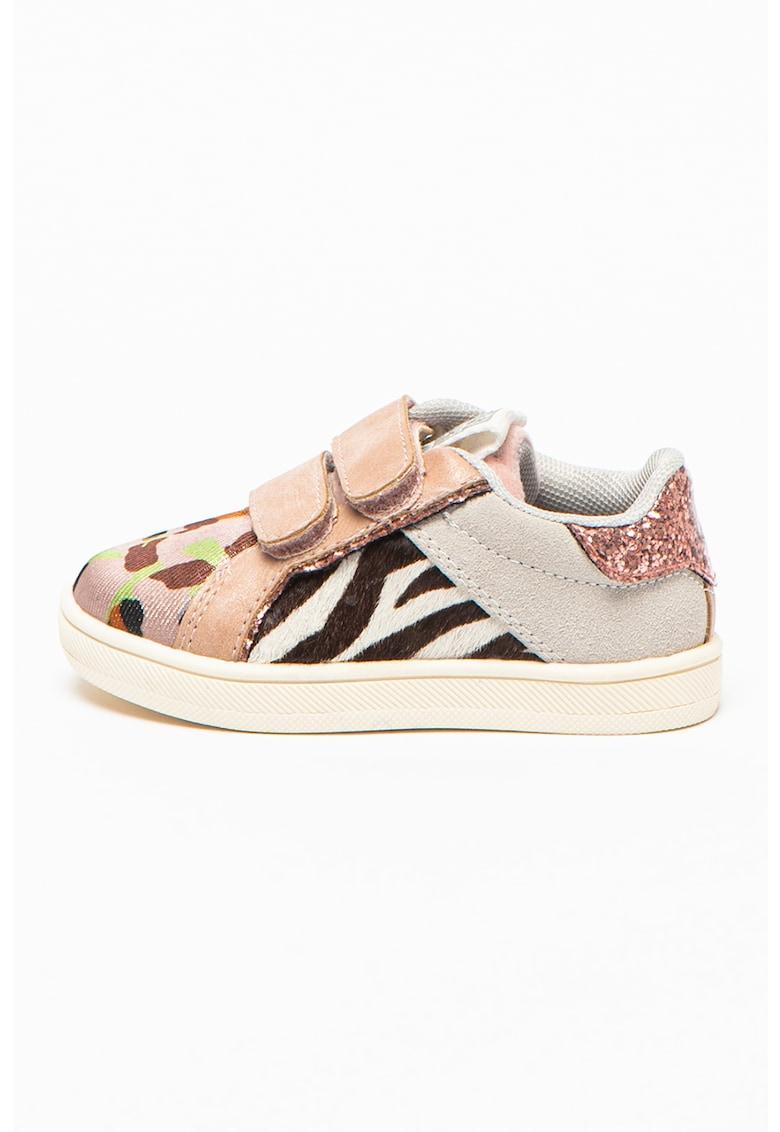 Pantofi sport cu garnituri de piele intoarsa Meerane