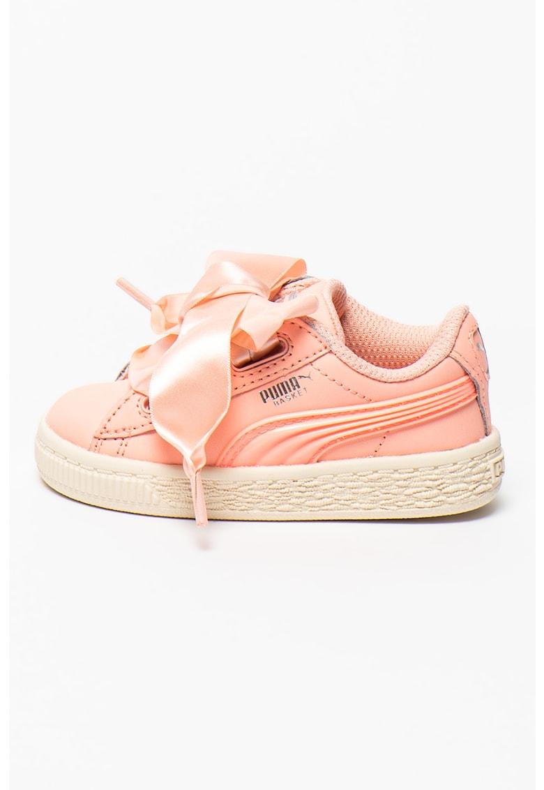 Pantofi sport de piele Basket Heart Jelly