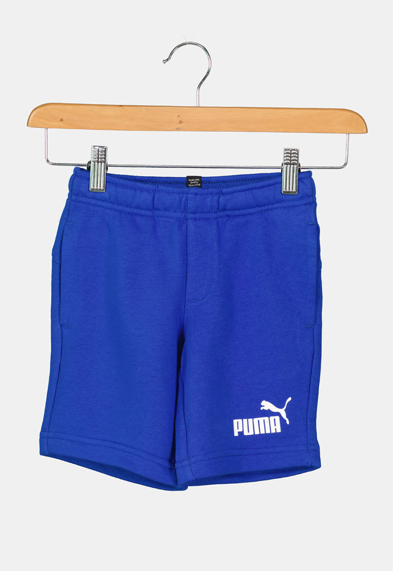 Puma Pantaloni scurti din amestec de bumbac cu buzunare laterale Essentials