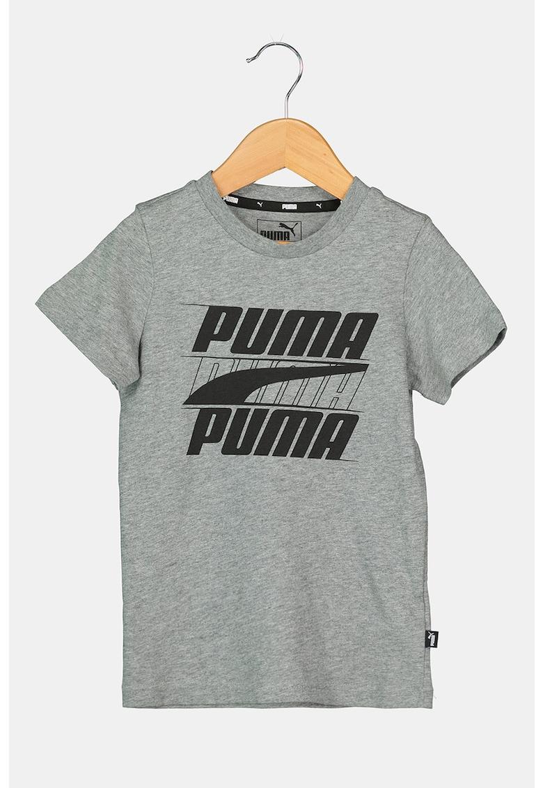 Puma Tricou cu imprimeu logo Rebel Bold