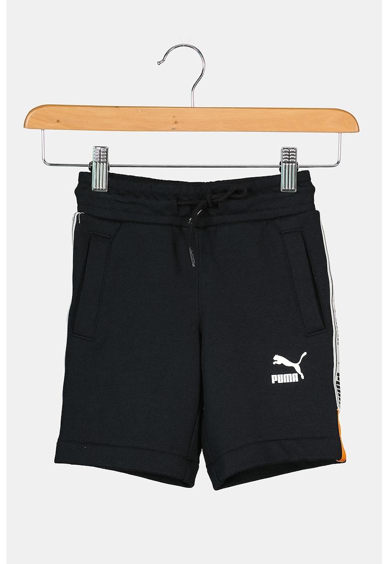 Puma Pantaloni scurti cu snur si banda logo laterala XTG