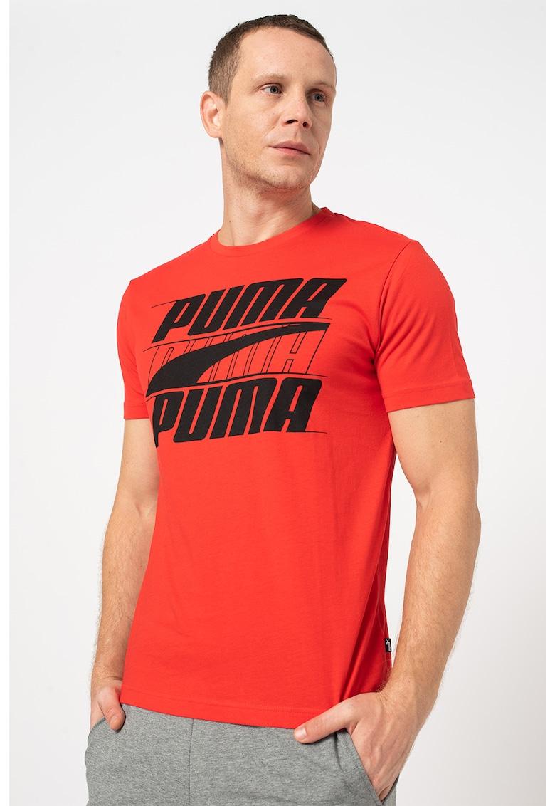 Puma Tricou basic regular fit cu imprimeu logo Rebel