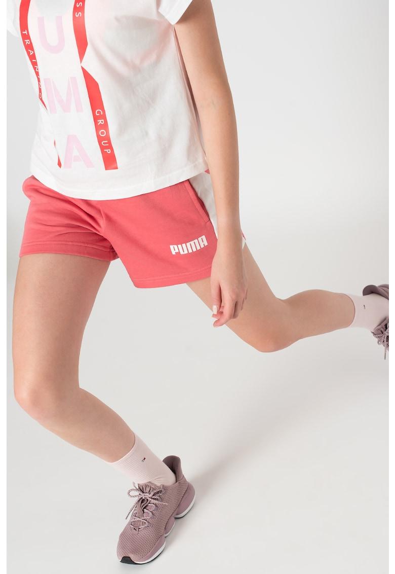 Puma Pantaloni scurti regular fit cu talie elastica Contrast
