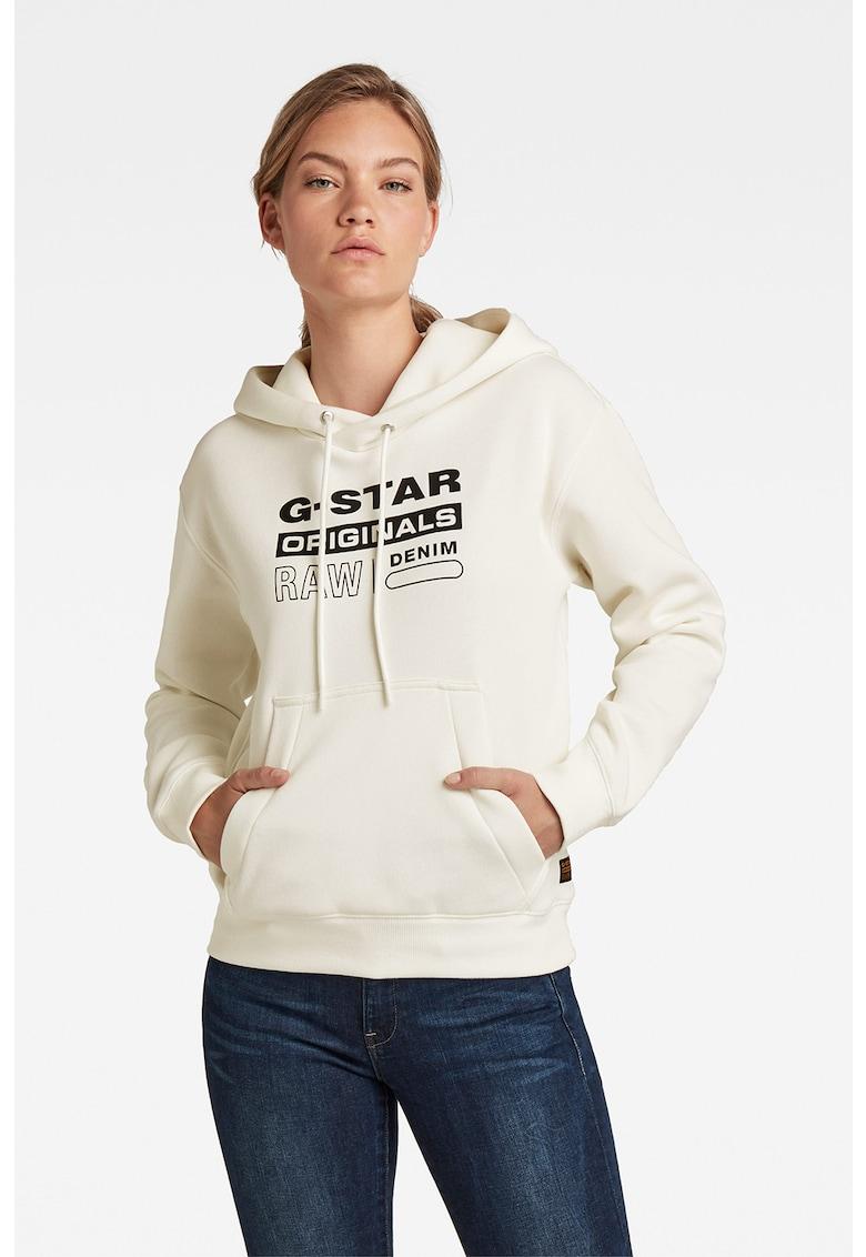G-Star RAW Hanorac cu imprimeu Premium Core