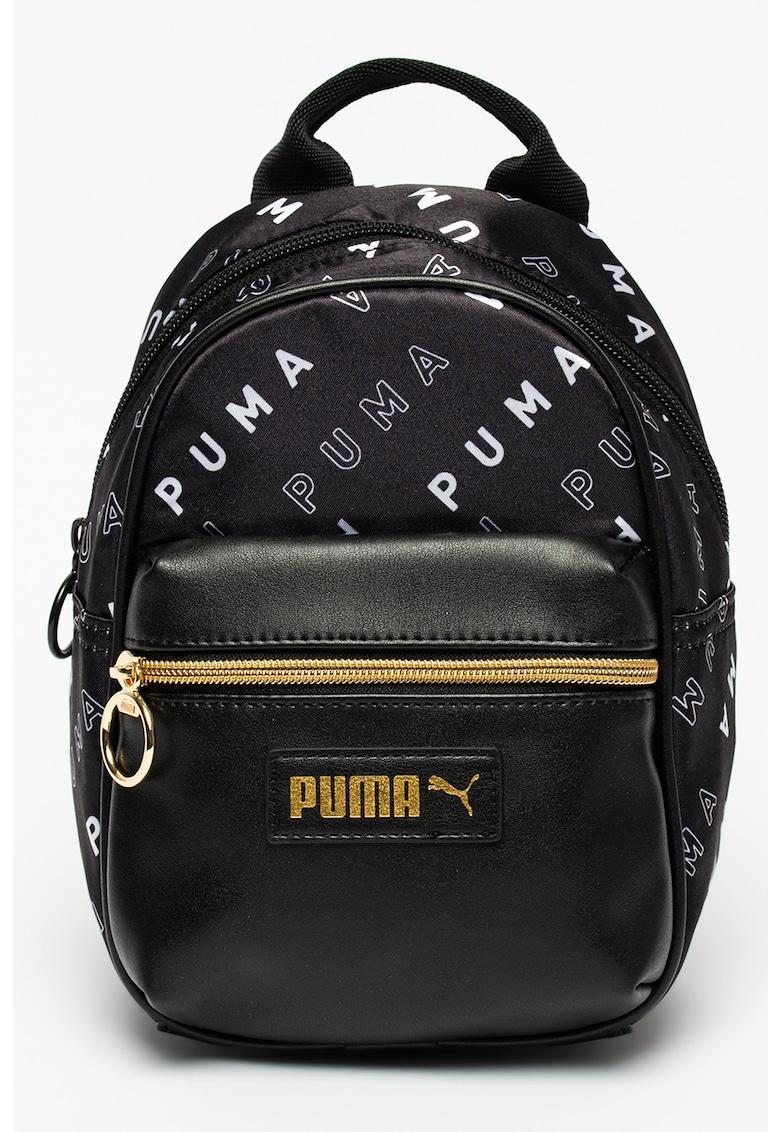 Puma Rucsac cu model logo si buzunar din piele ecologica Prime Classics Minime