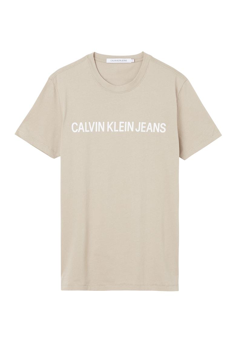 CALVIN KLEIN JEANS Tricou de bumbac organic cu imprimeu logo