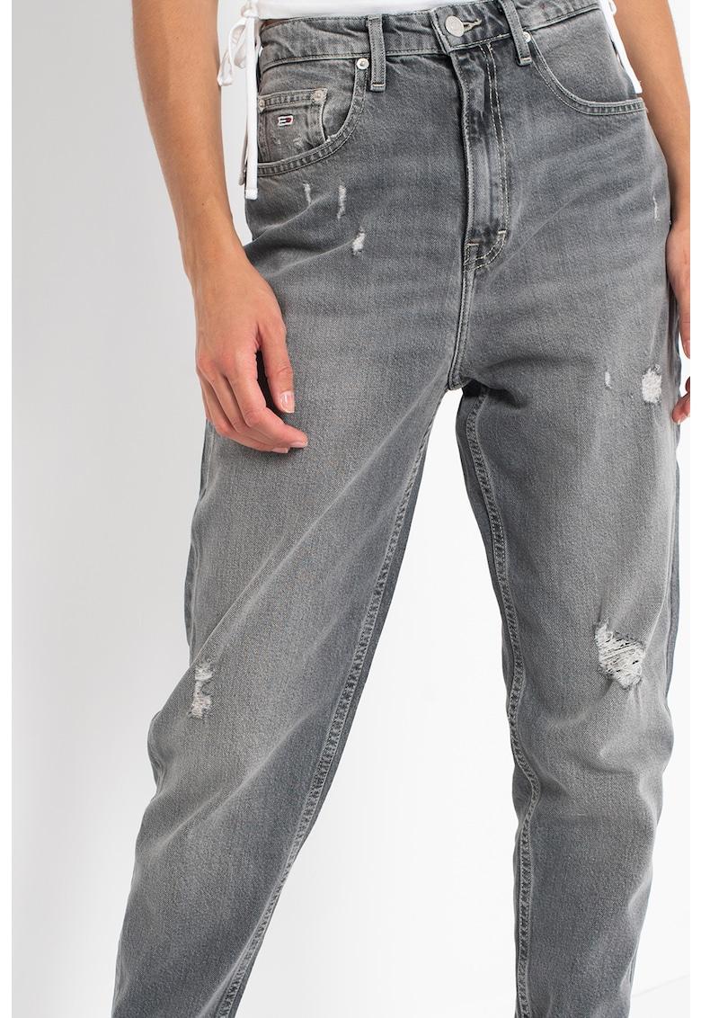 Tommy Jeans Blugi skinny cu aspect deteriorat