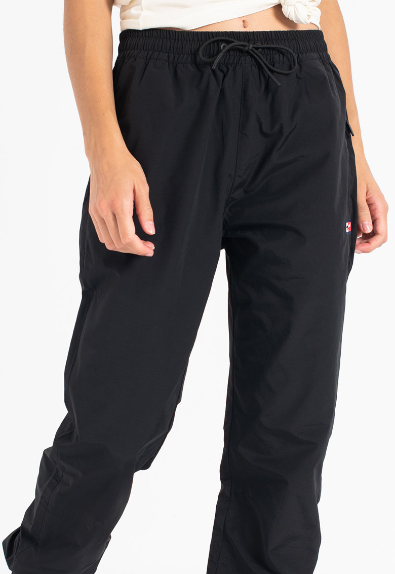 Tommy Jeans Pantaloni sport din amestec de bumbac organic cu logo