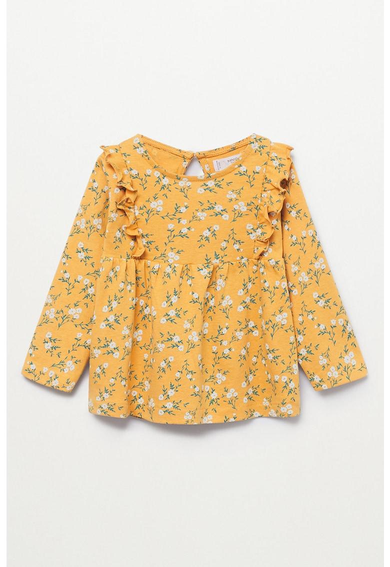 Bluza de bumbac cu imprimeu floral Helen