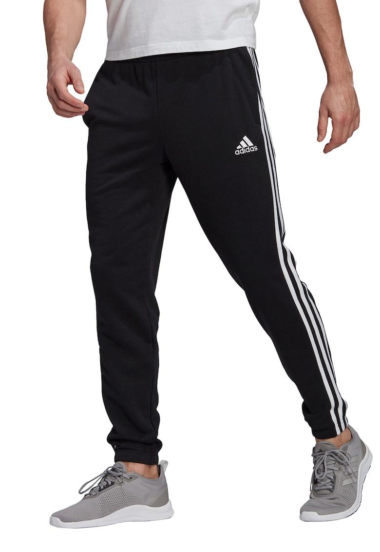 Pantaloni sport cu croiala conica Essentials 3-Stripes de la adidas Performance