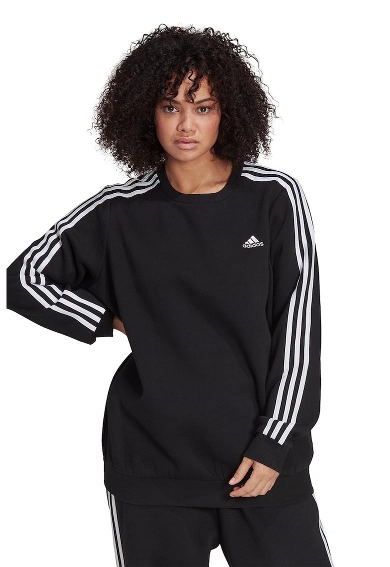 Bluza sport Essentials 3-Stripes Plus Size de la adidas Performance