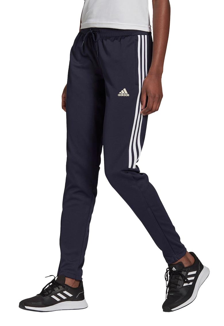 adidas Performance Pantaloni cu imprimeu logo pentru fotbal Aeroready