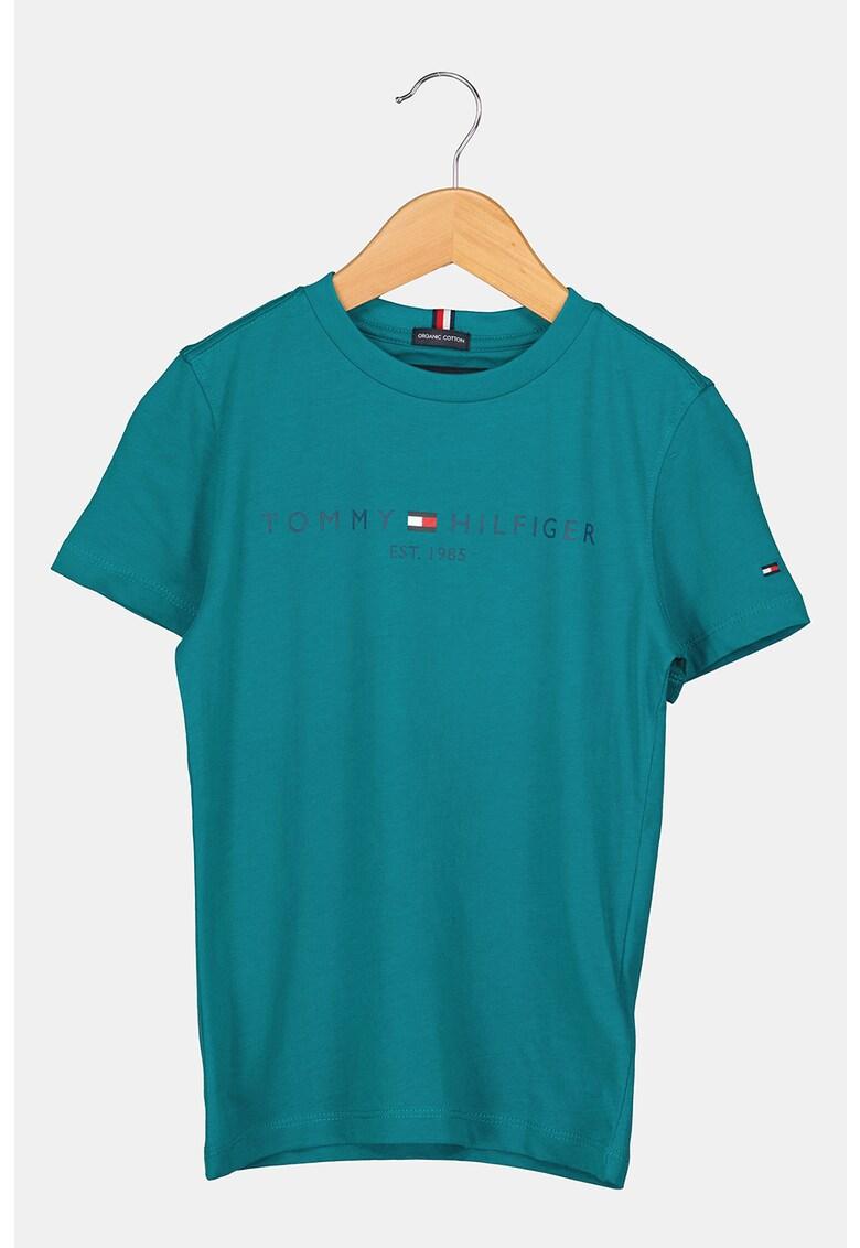 Tommy Hilfiger Tricou de bumbac organic cu imprimeu logo