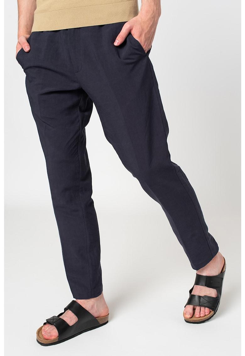Liu Jo Pantaloni chino din amestec de in