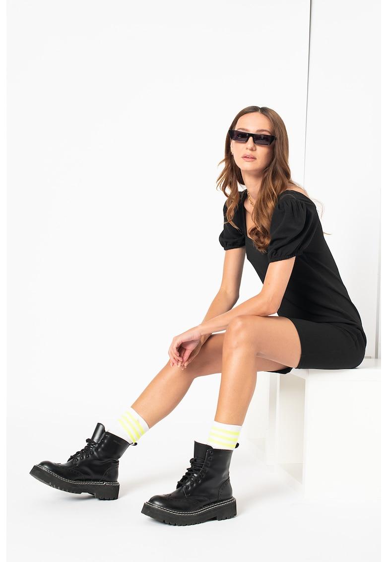 Vero Moda Rochie mini cu maneci bufante Poppy