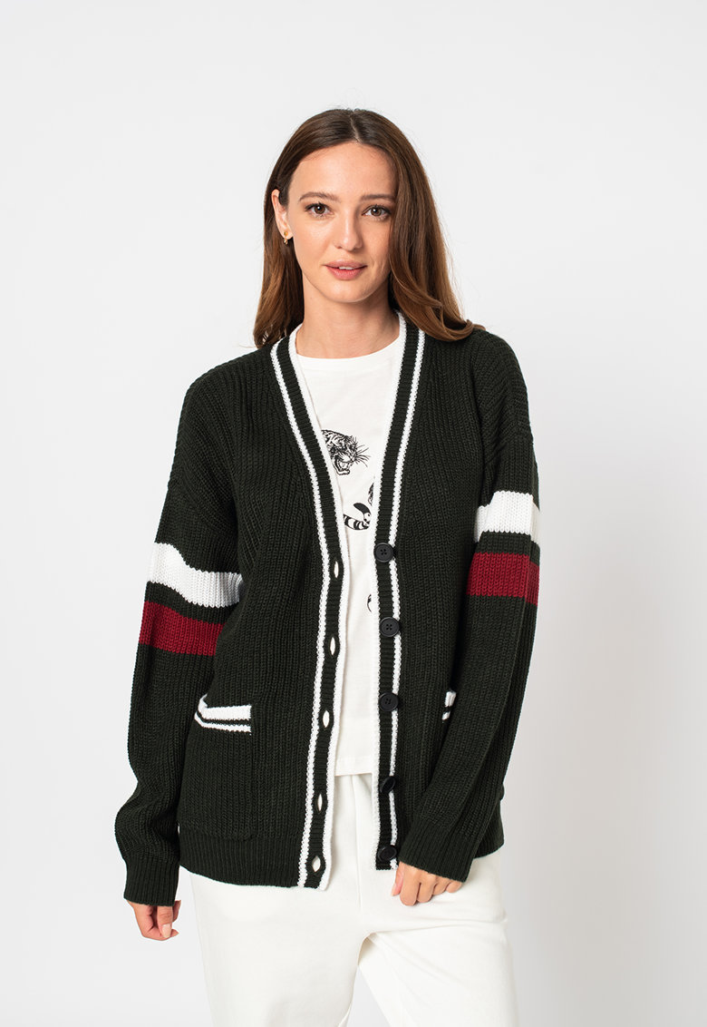 Noisy May Cardigan tricotat cu maneci cazute Tess
