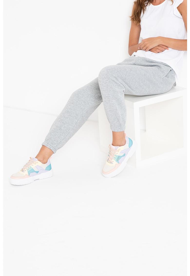 Hailys Pantaloni sport cu talie elastica Alissa