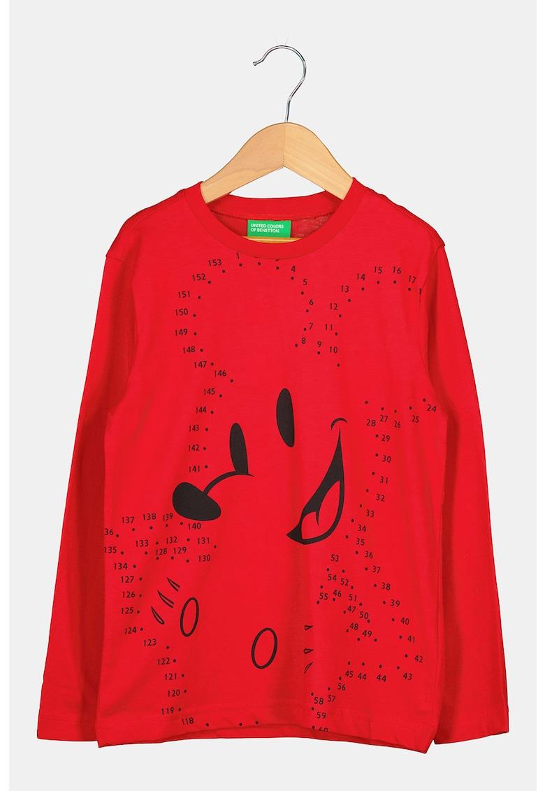 United Colors of Benetton Bluza de jerseu cu imprimeu Mickey Mouse