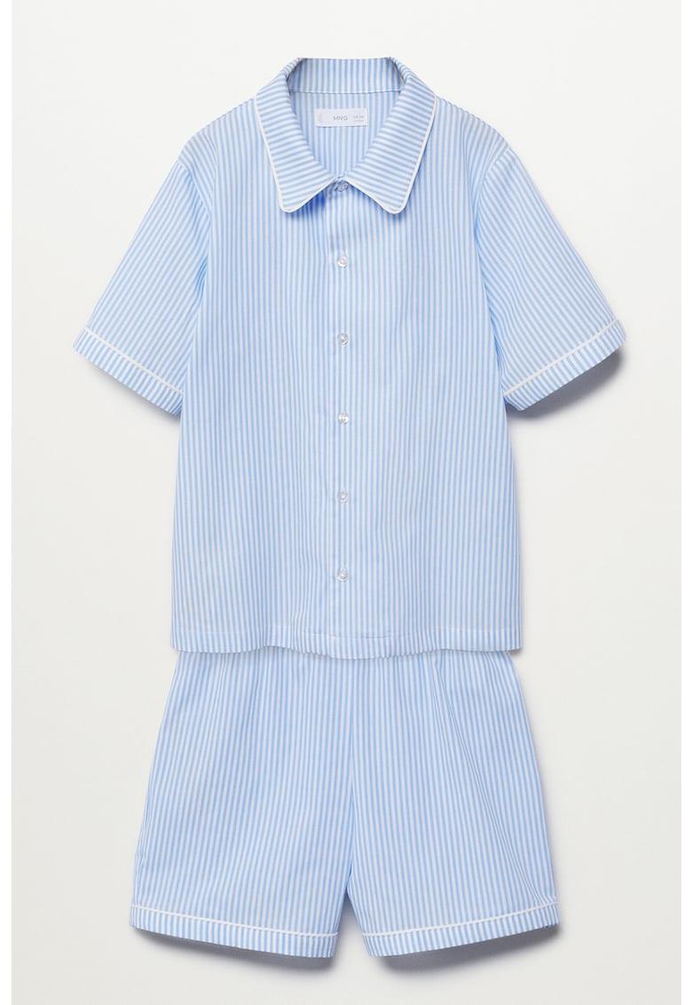 Pijama scurta cu dungi Class